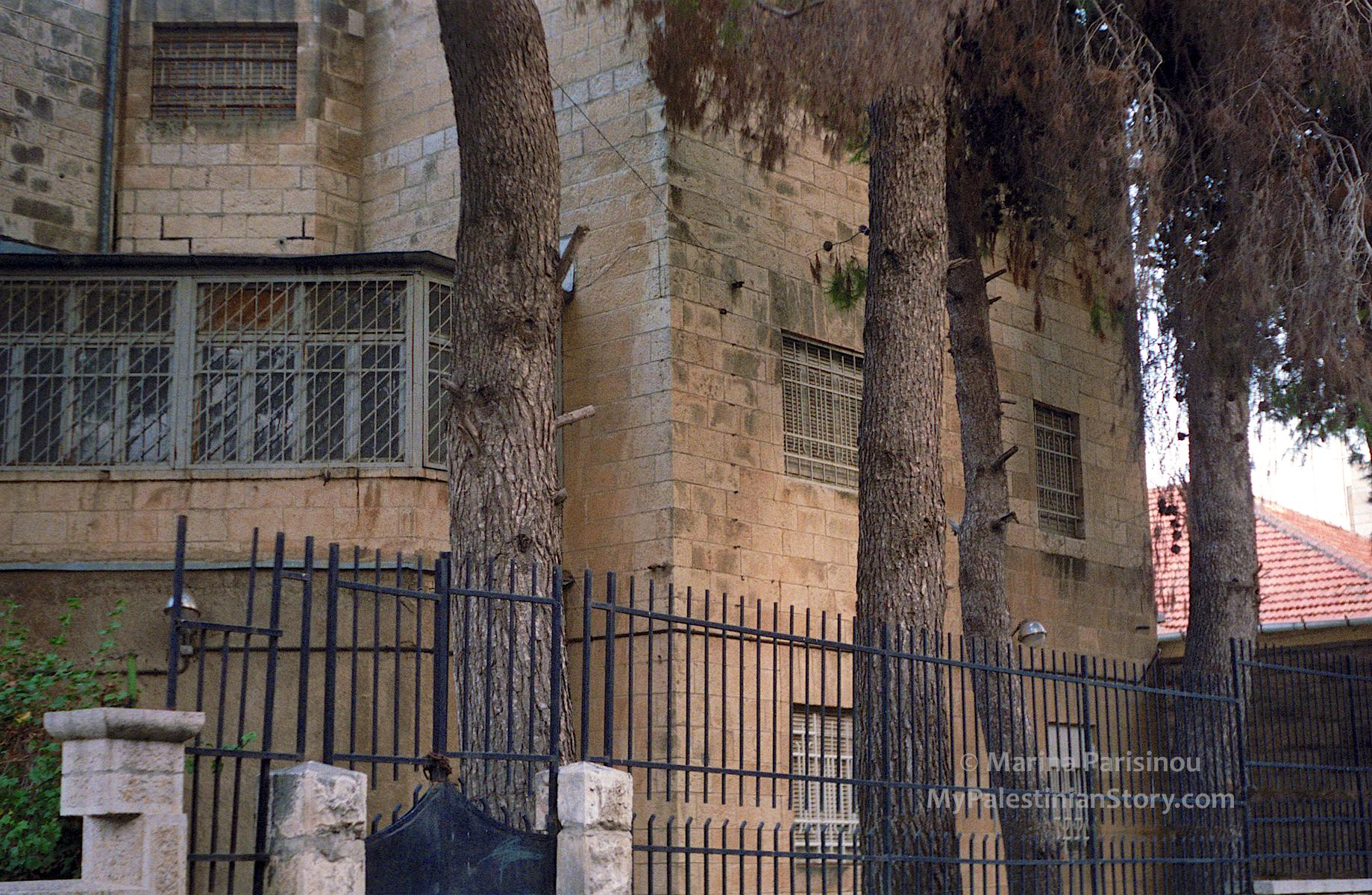 1986 photo of building where Marika and her family lived until 1948.