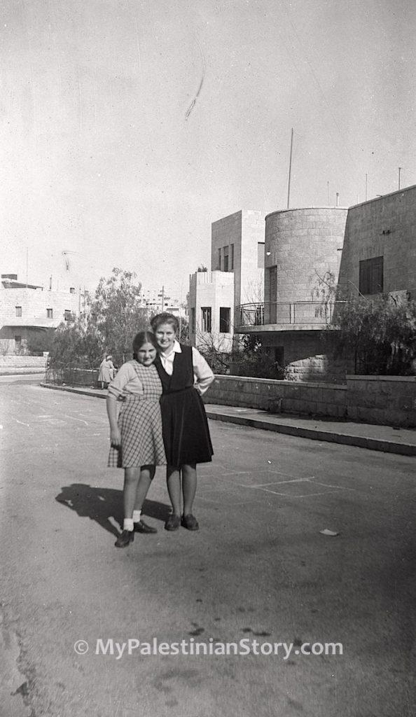 Jenny and Anna in Katamon
