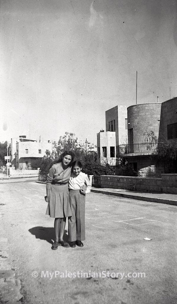 Mary and Feely in Katamon