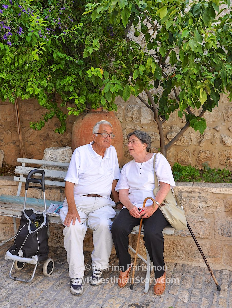 Vassos with Marianne Bannayan at the Greek Patriarchate monastery – Jul 2014