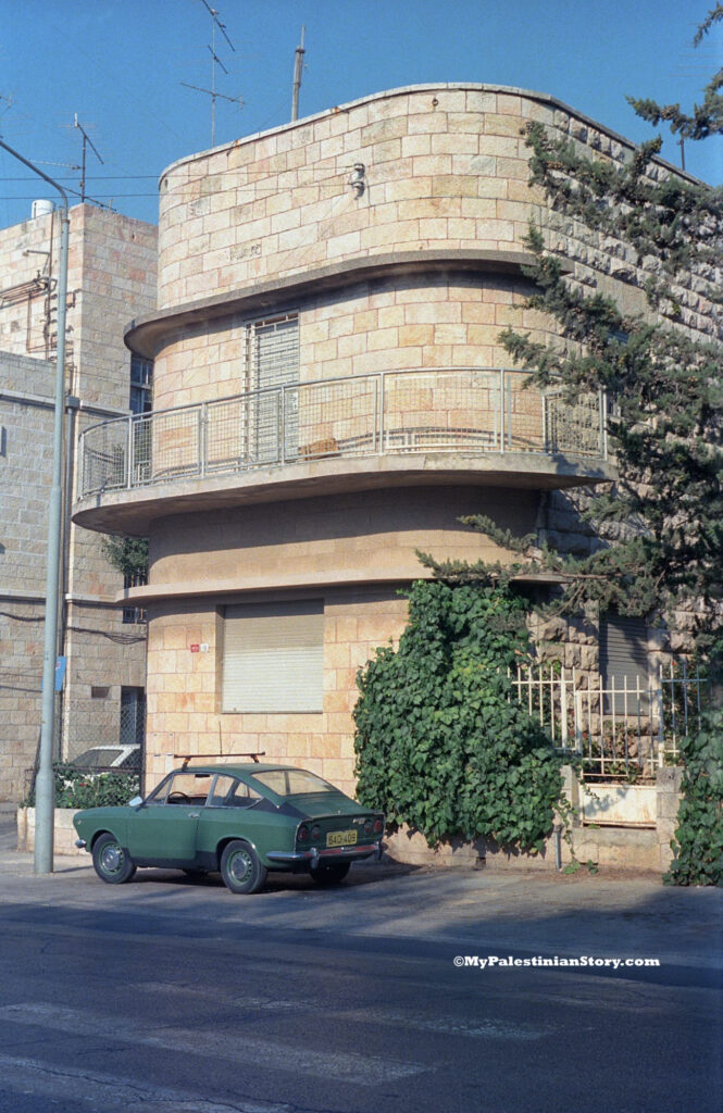 The house where the Louisidis lived until 1948.  Baq'a, Jerusalem - Aug 1986